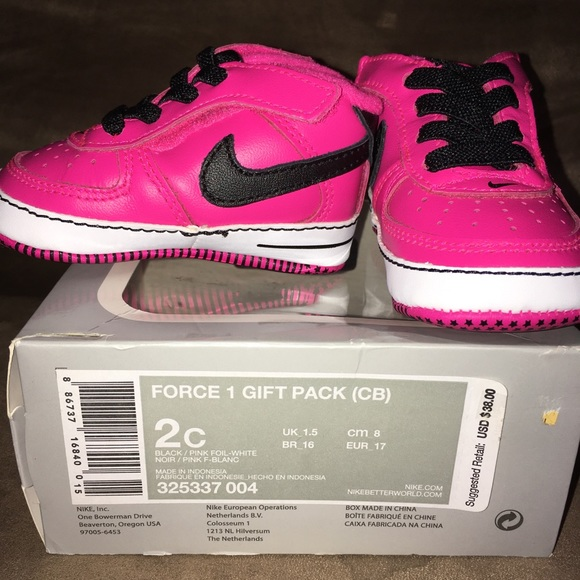 Baby Girl Size 2 Nike Sneakers Brand